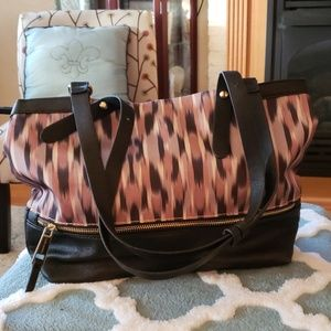 Franco Sarto handbag brown multi NWOT